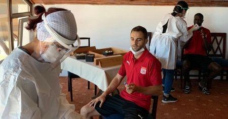 Sivasspor'a yeni sezon öncesi korona virüs testi yapıldı