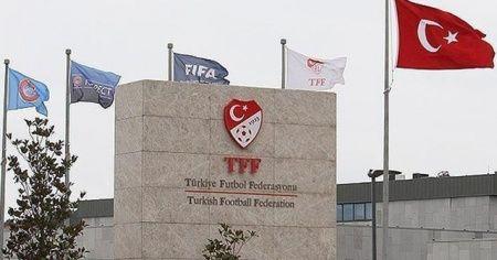 """TFF'den Fenerbahçe'ye """"geçmiş olsun"""" mesajı"""