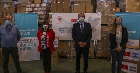 Türkiye'den Arjantin'in Kovid-19 salgınıyla mücadelesine destek
