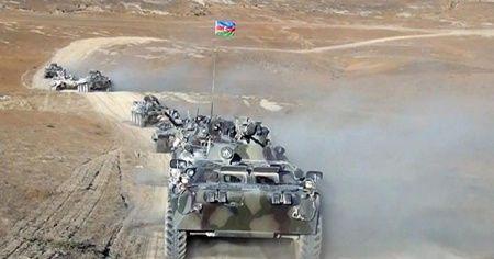 Türkiye ve Azerbaycan'ın tatbikatında temsili düşman saldırısı geri püskürtüldü