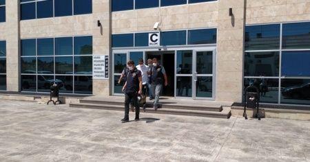 Uşak'taki cinayet zanlısı tutuklanarak cezaevine gönderildi