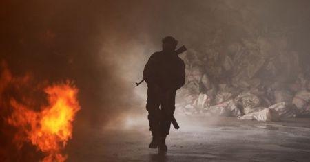 YPG/PKK'lı teröristler, Barış Pınarı Harekatı bölgesindeki SMO mevzisine saldırdı