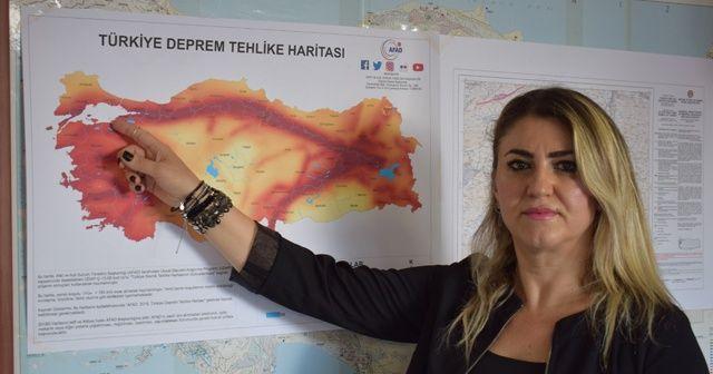 'Balıkesir'de 7.2 büyüklüğünde deprem olabilir'