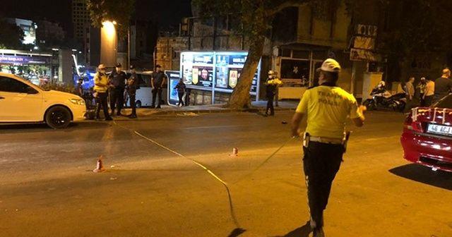 'Dur' ihtarına uymayan motosiklet sürücüsü polise çarptı
