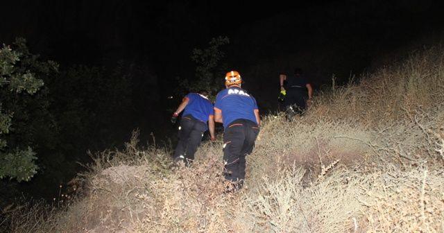 """""""Kayalıklardan biri düştü"""" ihbarı ekipleri harekete geçirdi"""