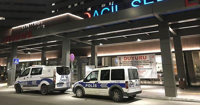 Adana'da hastanede refakatçiye silah doğrultan kadın gözaltına alındı
