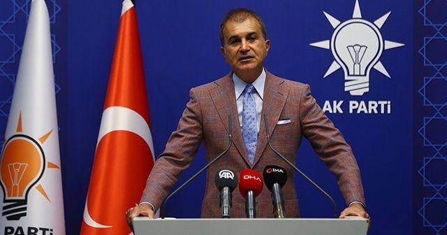 AK Parti Sözcüsü Ömer Çelik: Diplomasi isteyenlere kapımız sonuna kadar açık