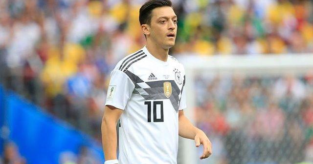 Almanya Futbol Federasyonundan Mesut Özil açıklaması