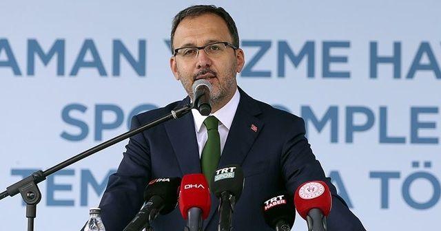 Bakan Kasapoğlu: Türkiye'de 2002'den beri yapılan tesisleşmenin dünyada hiçbir örneği yok