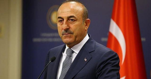 Bakan Mevlüt Çavuşoğlu Rusya Dışişleri Bakanı Lavrov ile görüştü