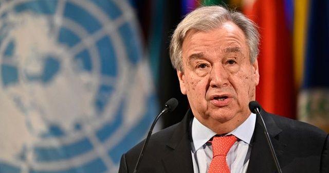 BM Genel Sekreteri Guterres'ten KKTC açıklaması