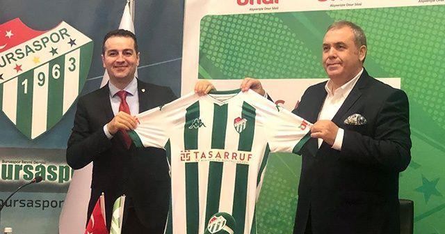 Bursaspor forma göğüs reklamı anlaşması yaptı