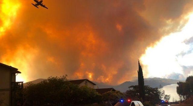 California'da yangınlar bitmiyor