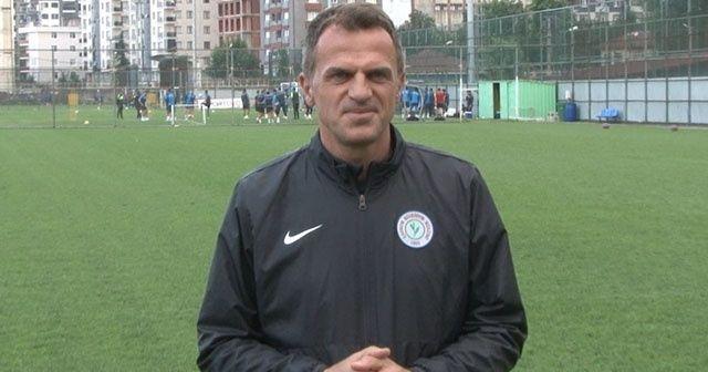 Çaykur Rizespor, Kasımpaşa'ya hazırlanıyor