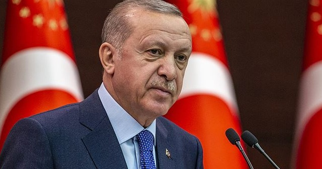 Cumhurbaşkanı Erdoğan ile AB Komisyonu Başkanı arasındaki görüşme sona erdi!