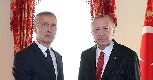 Cumhurbaşkanı Erdoğan, NATO Genel Sekreteri Jens Stoltenberg ile telefonda görüştü