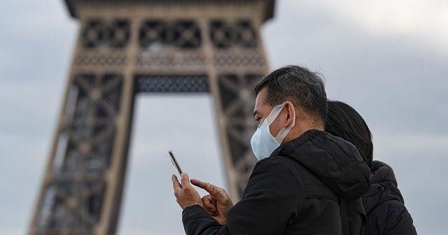 Fransa'da son 24 saatte 9 bin 784 Kovid-19 vakası tespit edildi