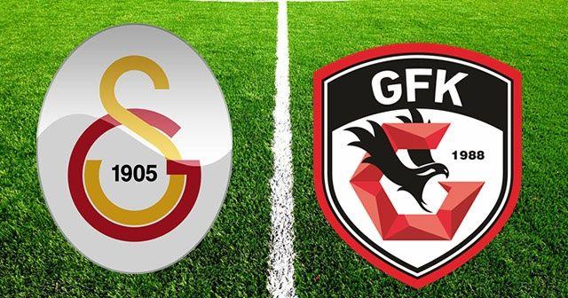 Galatasaray Gaziantep FK Maçını Canlı İzle! GS Gaziantep maçı ne zaman saat kaçta hangi kanalda?