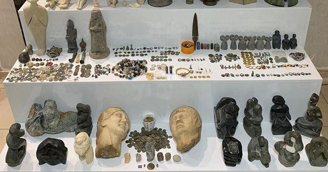 Hatay ve Şanlıurfa'da tarihi eser kaçakçılığı