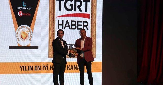 İHA ve TGRT Haber'e 'yılın en iyisi' ödülü