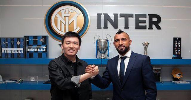 Inter, Vidal'ı transfer etti