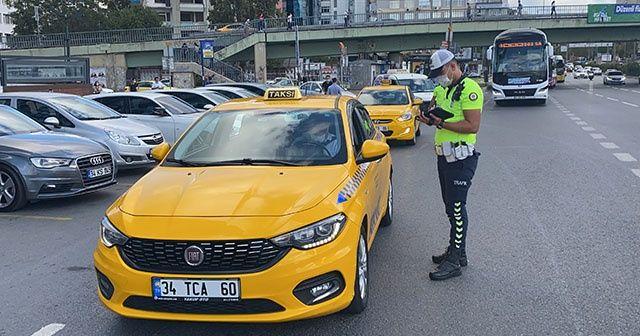 İstanbul'da toplu taşıma denetimi