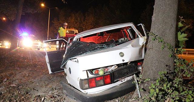 Kaza yaptığı aracı olay yerinde bırakarak kayıplara karıştı