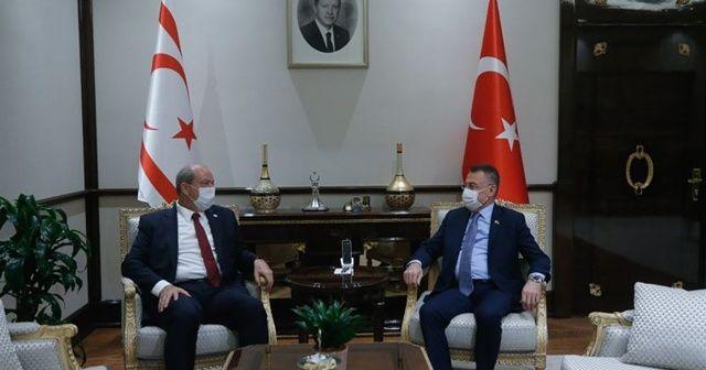 """KKTC Başbakanı Tatar: """"Kıbrıs'ta egemen eşitlik temelinde bir anlaşmadan yanayız"""""""
