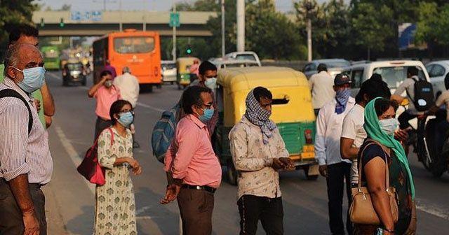 Kovid-19 nedeniyle son 24 saatte Hindistan'da 1089, Brezilya'da 729, Meksika'da 405 kişi öldü