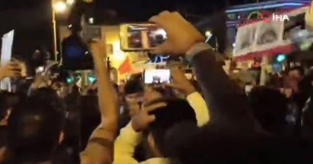 Kudüs'te İsrail polisi ile göstericiler arasında arbede
