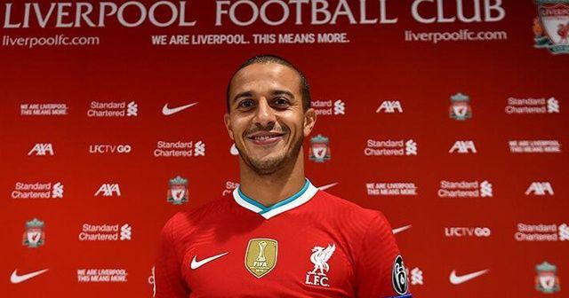 Liverpool, Thiago'yu transfer etti