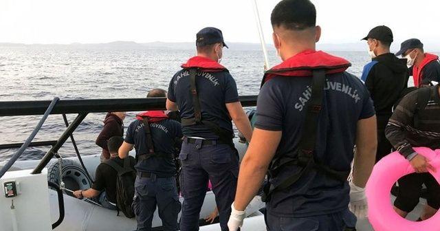 Marmaris açıklarında 87 sığınmacı kurtarıldı!