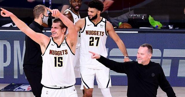 NBA'de Nuggets Batı Konferansı finaline çıktı