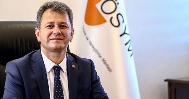 ÖSYM Başkanı Aygün: Covid-19 ile ilgili durumu olan adaylar, HES kodlarından belirlenecek