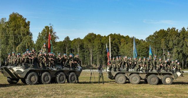 """Rusya ve Belarus'un düzenlediği """"Slav Kardeşliği"""" tatbikatının ikinci etabı başladı"""