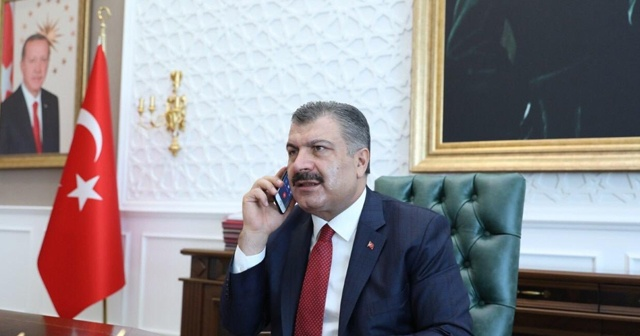 Sağlık Bakanı Koca, Azerbaycan Sağlık Bakanı Oktay Şiraliyev'le telefon görüşmesi yaptı