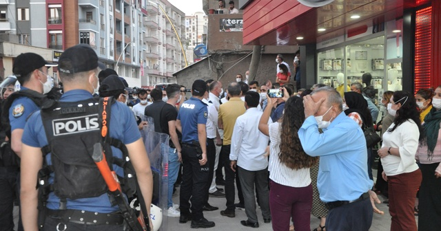 Şırnak anneleri ile HDP'liler arasında gerginlik