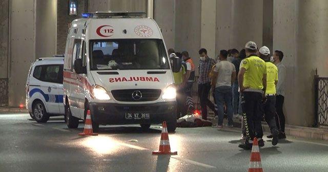 Taksim'de motosiklet kazası: 1 kişi hayatını kaybetti