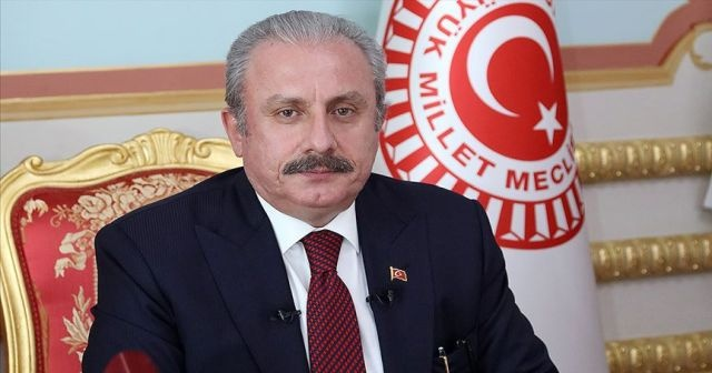 TBMM Başkanı Şentop'tan Abdi İbrahim'e tebrik