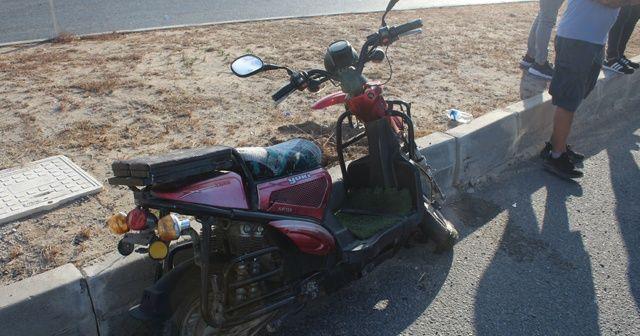 Tekirdağ'da elektrikli motosiklet ile otomobil çarpıştı: 1 yaralı