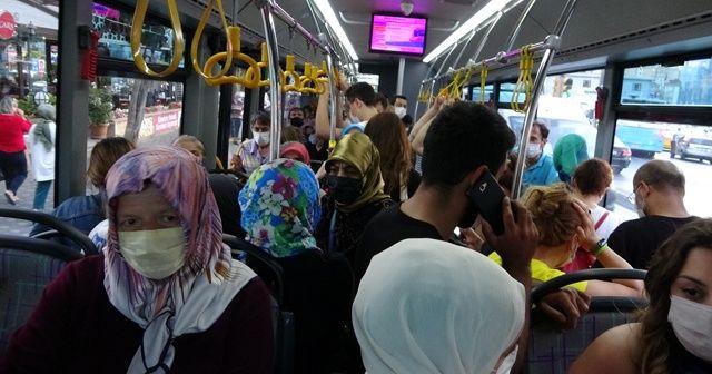 Toplu taşıma araçlarına ayakta yolcu denetimi