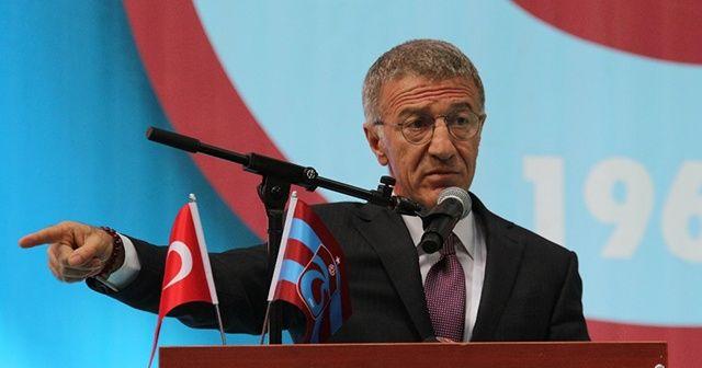 Trabzonspor Başkanı Ağaoğlu'ndan Sörloth açıklaması