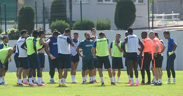Trabzonspor, Gaziantep FK hazırlıklarını sürdürdü