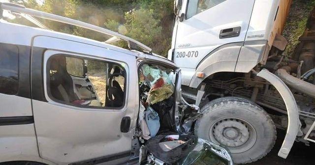 Trafik kazasında yaralanan şahıs hayatını kaybetti