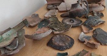 5 bin 200 yıllık seramikler bulundu