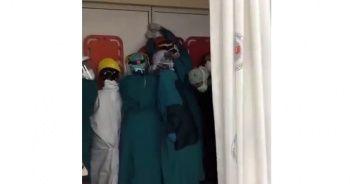 Acil serviste hayatını kaybeden kişinin yakınları hastaneyi bastı