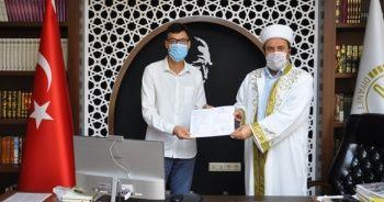 Alanya'ya tatile gelen Rus turist Müslüman oldu