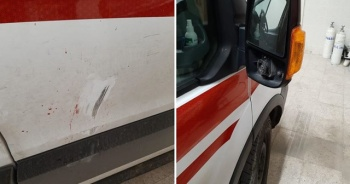 Ambulans ekibine saldıran 3 kişi gözaltına alındı