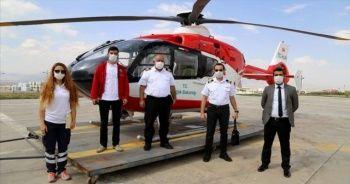 Ambulans helikopter Doğu Anadolu'da acil hastalara 'Hızır' gibi yetişiyor