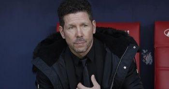 Atletico Madrid'de Kovid-19 testi pozitif çıkan Diego Simeone ev karantinasında